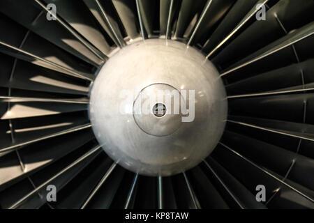 engine turbine - Stock Photo
