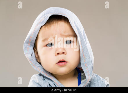 Baby confused - Stock Photo