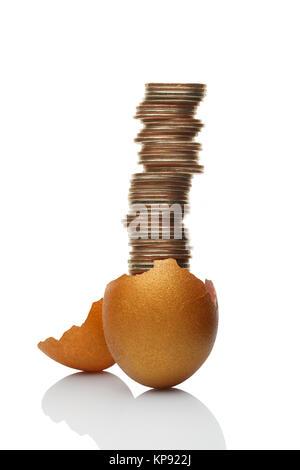The nowadays golden goose. - Stock Photo