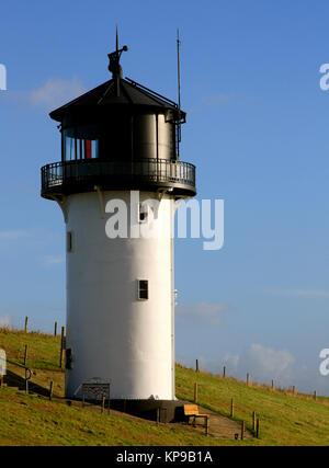 historic lighthouse big bertha altenbruch - Stock Photo