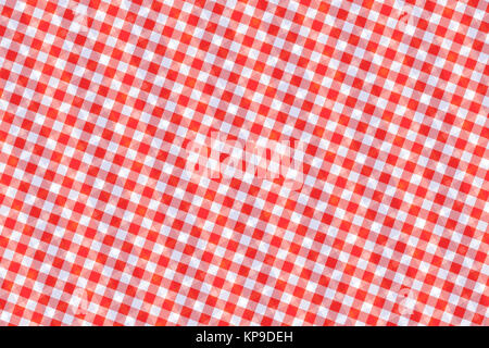Red and White Computer Generated Abstract Geometric Pattern - Stock Photo
