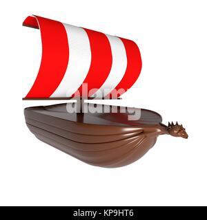 Drakkar, viking ship - Stock Photo