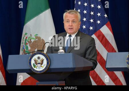 Washington DC, USA. 14th Dec, 2017. U.S. Deputy Secretary of State John Sullivan delivers remarks at the Second - Stock Photo