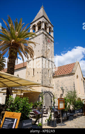 Church of St Dominic. Trogir Old Town, Croatia - Stock Photo