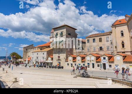Trogir Old Town, Croatia - Stock Photo