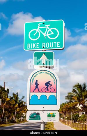 Florida key west keys route 1 whitehead street mile marker for Key west bike trails