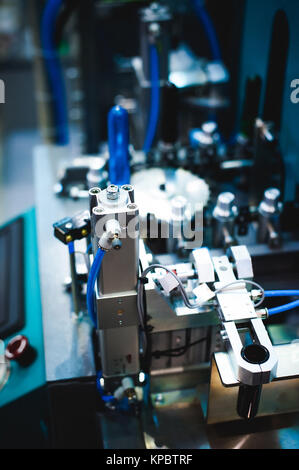 machines and mechanisms of production laboratories - Stock Photo