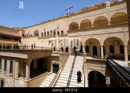 Syrian Orthodox Monastery Mar Mattai, St Matthew's Monastery, near  Mosul, Iraqi Kurdistan, Iraq. - Stock Photo