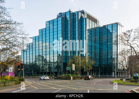 69 Park Lane, Croydon, was designed by R. Seifert & Partners and completed in 1983. - Stock Photo