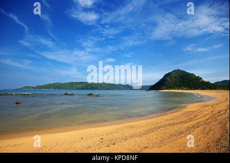 Kuta Mandalika Beach, Lombok Island, Nusa Tenggara, Indonesia - Stock Photo