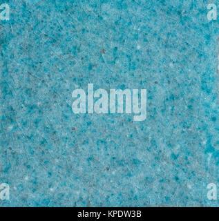 craquelierte tile - turquoise - Stock Photo