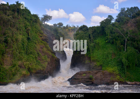 Uganda is called 'The pearl of Africa' because of its beautiful landscapes, friendly people, and abundance of rain. - Stock Photo