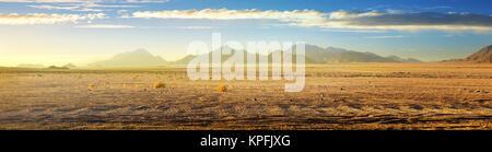 View on desert - Stock Photo
