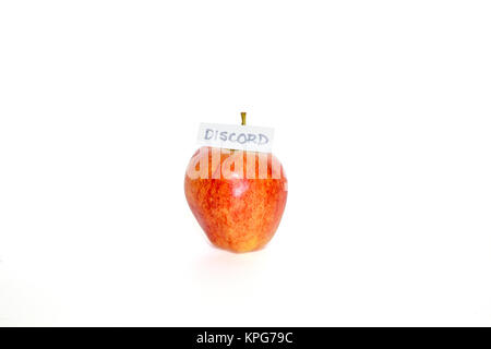 The Apple of Discord - Stock Photo