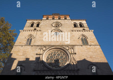 France, Midi-Pyrenees Region, Lot Department, Cahors, Cathedrale St-Etienne cathedral - Stock Photo