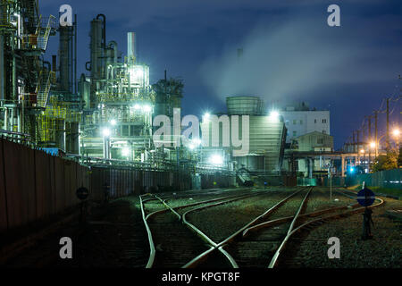 Industrial building at kawasaki - Stock Photo