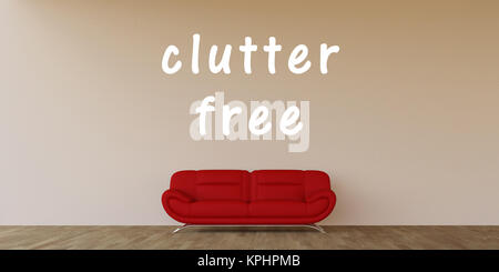 Clutter Free - Stock Photo