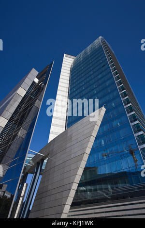Uruguay, Montevideo Department, Montevideo. Torre Antel tower. - Stock Photo