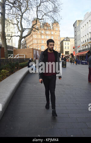 Leicester Square, London, UK. 16th December, 2017. PR / social media / Marketing / celebrity Manager Pablo O'Hana - Stock Photo