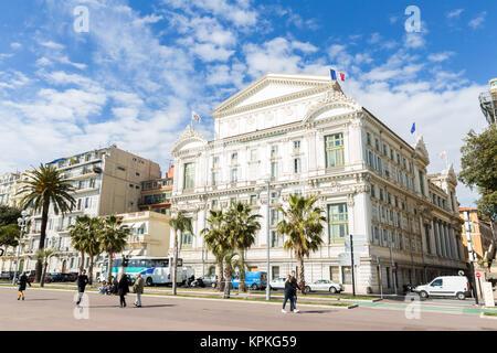 Opera house Nice France - Stock Photo