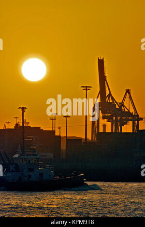 Hamburg, one of the most beautiful and most popular tourist destinations in the world. - Stock Photo