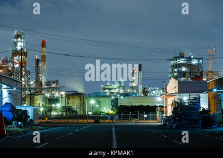 Industry factory in kawasaki - Stock Photo