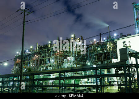 Industry building in kawasaki - Stock Photo