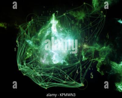 Acceleration of Network - Stock Photo