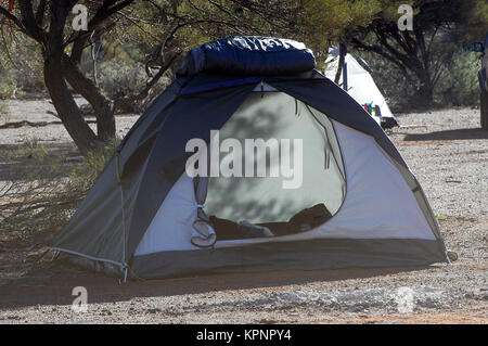 camp-site in the bush - Stock Photo
