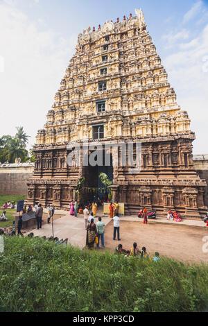 Asia, India, Tamil Nadu, Vellore, Jalakanteswarar Temple - Stock Photo