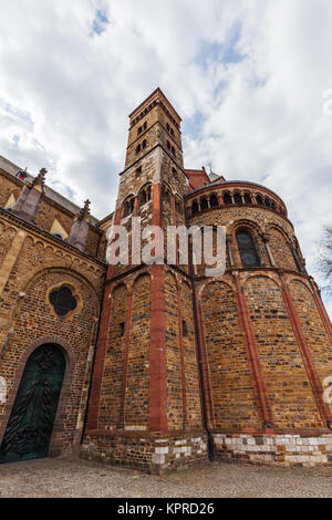 Basilica of St. Servatius in Maastricht - Stock Photo