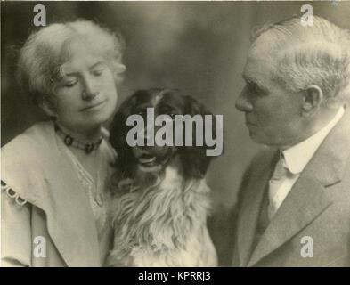 Elder Annie Oakley, Her Husband & Dog Dave