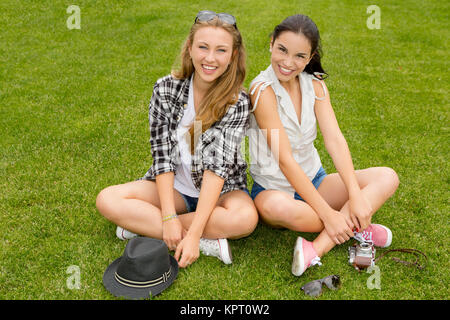 Best Friends - Stock Photo