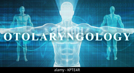 Otolaryngology as a Medical Specialty Field or Department - Stock Photo