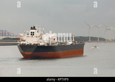 Oil Tanker Ship - Stock Photo