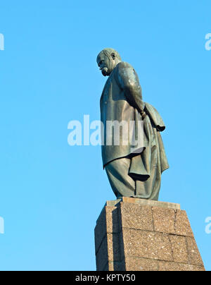 Monument of Taras Shevchenko in Kaniv - Stock Photo