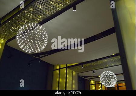 Interior of posh luxury gourmet food and drink shop for Aicha moroccan cuisine san francisco