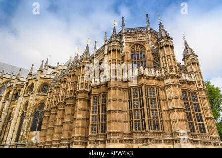 Westminster Abbey, London, United Kingdom - Stock Photo