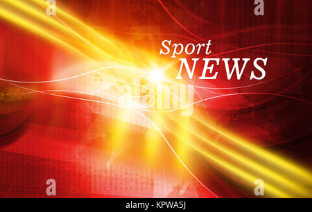 Graphical Sport News background Coneept Series 02 - Stock Photo