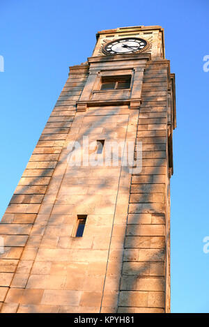 Cocker's clock tower in Stanley Park,Blackpool,Lancashie,UK - Stock Photo