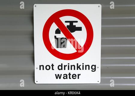 Not Drinking Water - Stock Photo