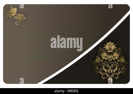 Abstract gold background for the design of your credit card stock abstract waste your money abstract background with gold floral patterns for the design of business card stock photo colourmoves