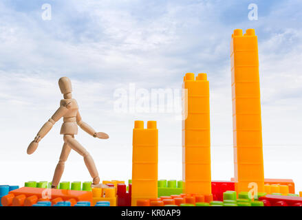 Business goal concept presentation - Stock Photo