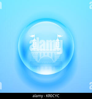 Vector Glass sphere.