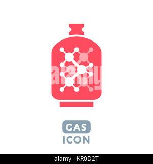 Vector Gas icon - Stock Photo