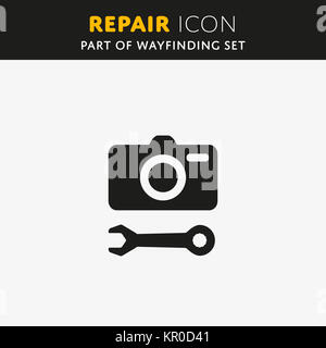 Vector Repair icon - Stock Photo