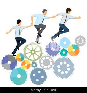 partner collaboration - Stock Photo