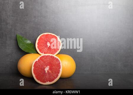 variation of grapefruit - Stock Photo