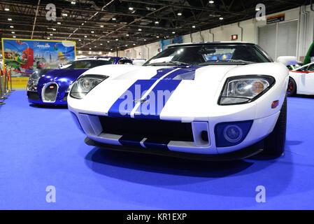Dubai Uae November  The Ford Gtx Race Car Is On Dubai Motor