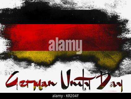 German Unity Day - Stock Photo
